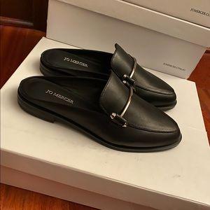 Jo Mercer Webster Loafers Black Leather